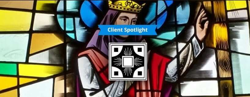 Client Spotlight: St. Helen Parish Community and Church Membership Management Software - Stained glass