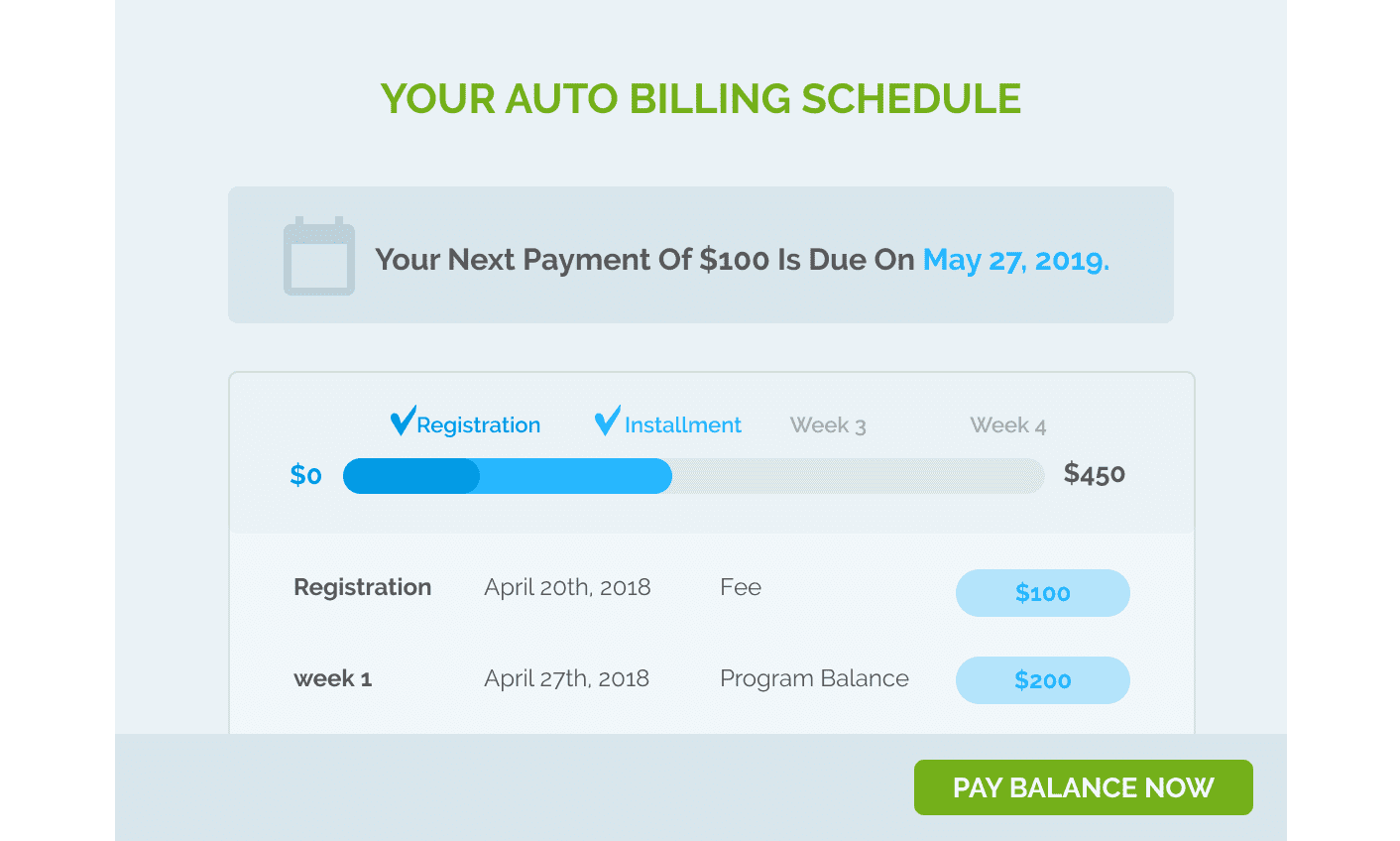 Automated billing software by Regpack