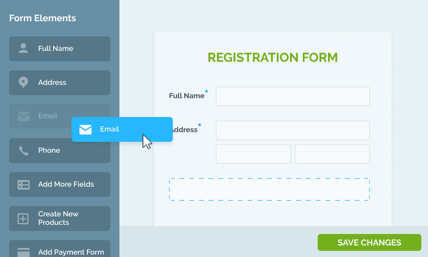 registration form builder