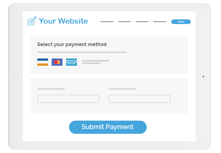 online payment forms on your website
