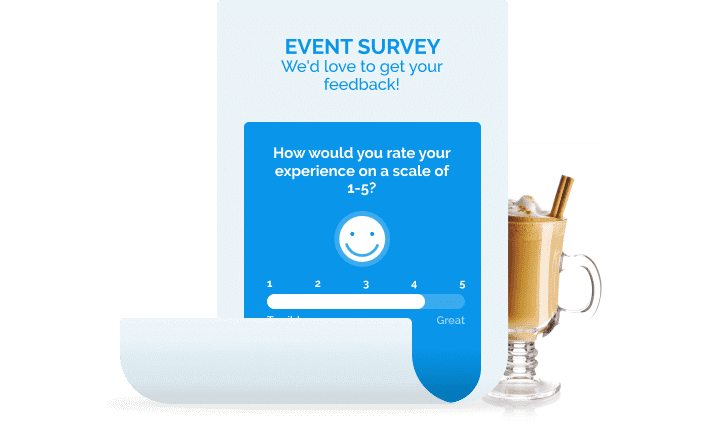 online survey tool to gather feedback after events and programs