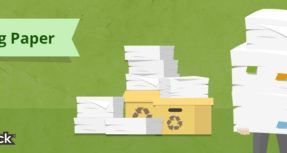 save paper reduce office waste