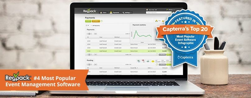 regpack top rated event management software company