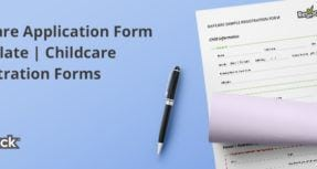 daycare application form
