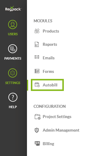 Autobill module allows you to create and manage payment plans in your registration project.