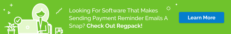 Regpack's registration software can automate your payment reminder email process and increase your organization's revenue stream!