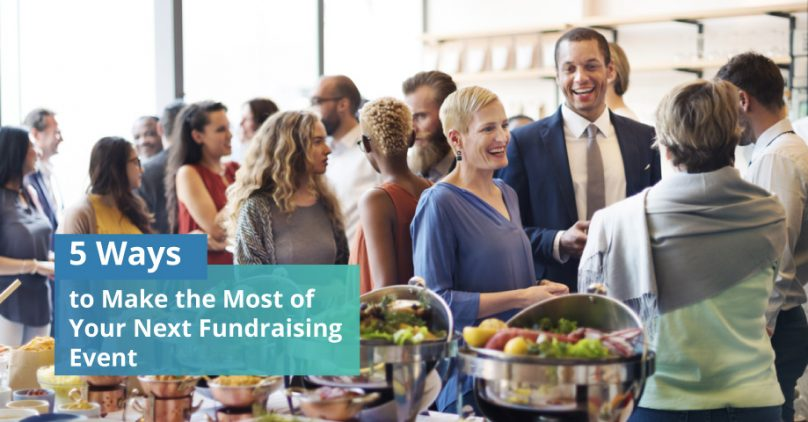 Make the most of your next fundraising event.