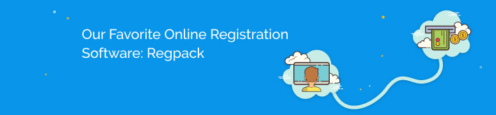 our favorite online registration software: regpack