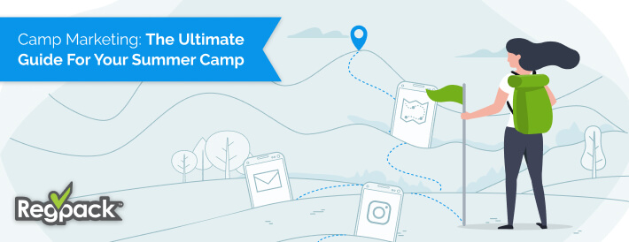 The key to summer camp marketing is combining in person and online techniques in a way that reaches the heart of your community.