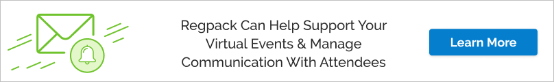 Regpack helps to support your virtual events and manages communication with attendees.