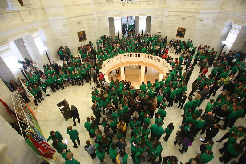 4-H capitol day _ youth development programs in arkansas