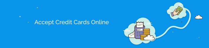 Accepting credit card payments online