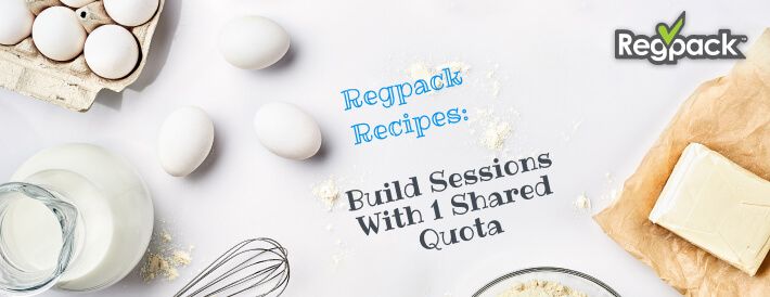 build sessions with 1 shared quota