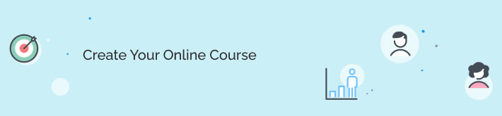Create an online course easily.