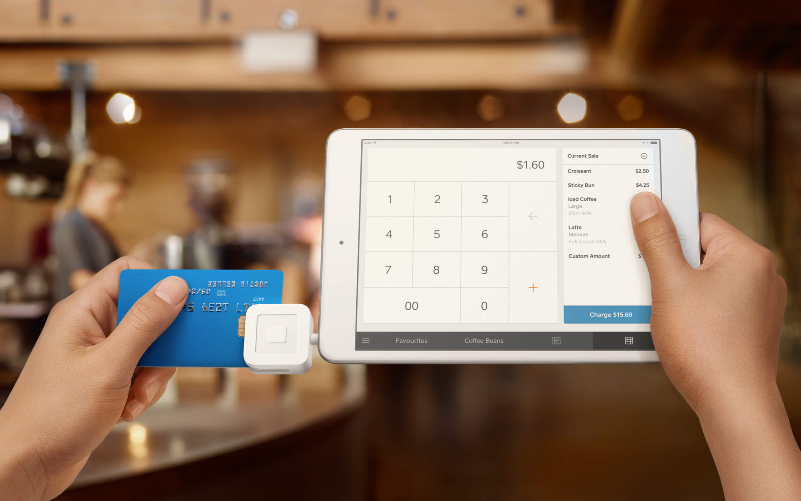 Square - Credit card