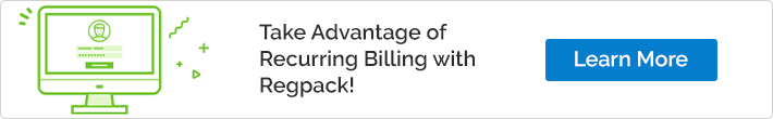 Take Advantage of Recurring Billing with Regpack!