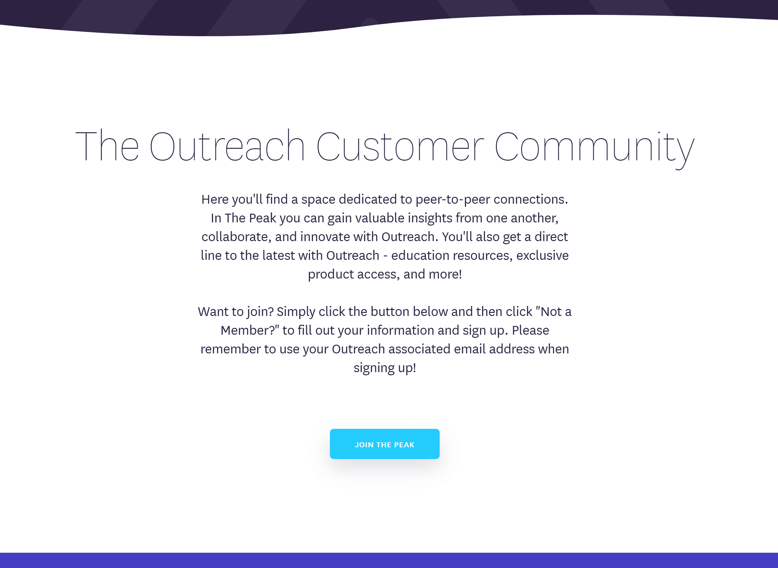membership engagement by outreach.io